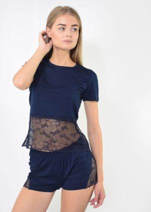 пижама женская с шортами NEL