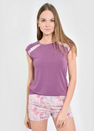 Пижама лиловая /арт. 987/