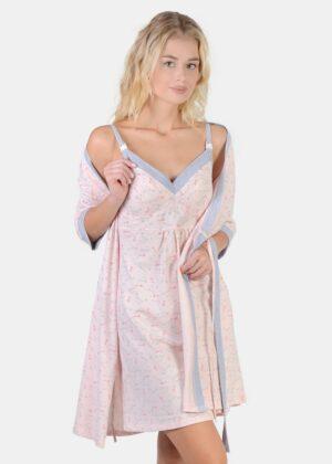 Ночнушка и халат для кормления