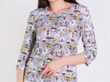Пижама с шортами хлопок 1191-09