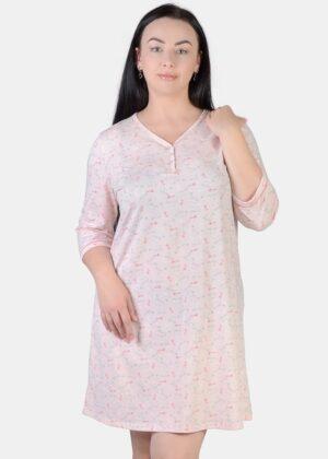 ночная рубашка с длинным рукавом