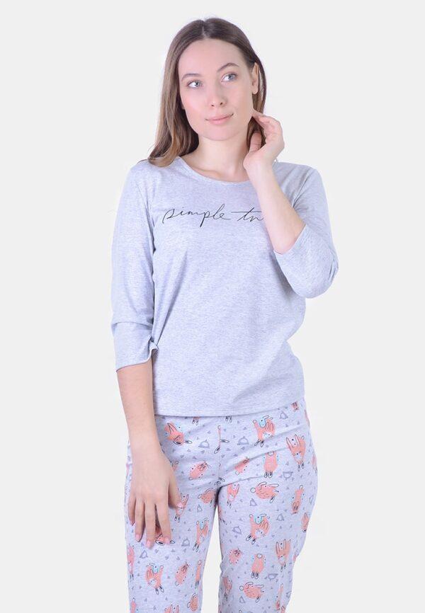 пижама хлопок женская