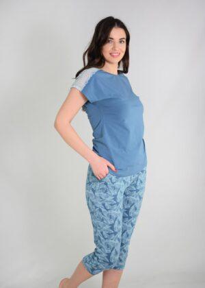 пижама с бриджами большие размеры